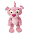 peluche Doudou musical Panth�re rose b�b� 30 cm
