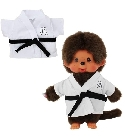 Peluche Kiki sports judo et football