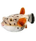 Peluche poisson ballon