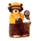 Peluche gund ours_apiculteur