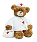 Peluche gund ours_infirmiere