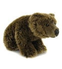 Peluche Grizzly assis 30 cm