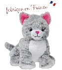 peluche Peluche bouillotte chat Made in France