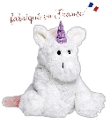 peluche Peluche bouillotte licorne Made in France