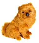 Peluche Chow Chow assis 50 cm
