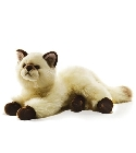 peluche Peluche chat siamois Gaudy 40 cm