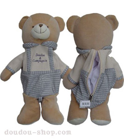 peluche un ours range pyjama chez doudou. Black Bedroom Furniture Sets. Home Design Ideas
