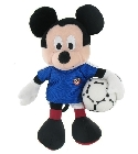 peluche Peluche Mickey football France 20 cm