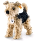 peluche Peluche chien terrier de collection Steiff