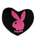 Coussin Playboy coeur rose 40 cm