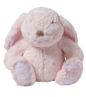 peluche Tartine et Chocolat lapin musical rose