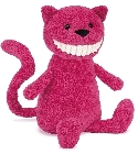 peluche Peluche Jellycat chat Toothy 36 cm