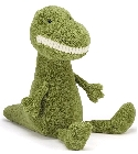 peluche Peluche Jellycat grand dinosaure Toothy