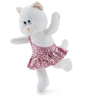 Peluche Trudi chat gymnastique