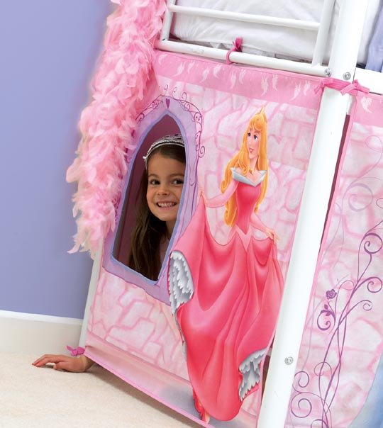 tente de lit princesse disney chez doudou. Black Bedroom Furniture Sets. Home Design Ideas