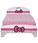 peluche Lit enfant Hello Kitty 190 x 90