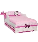 Lit enfant Hello Kitty � tiroirs 140 x 70