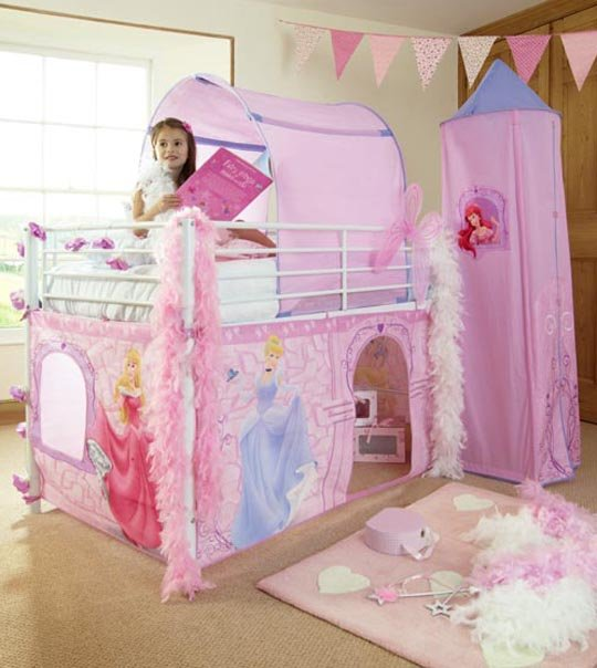 tente chateau princesse disney chez doudou. Black Bedroom Furniture Sets. Home Design Ideas
