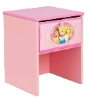 peluche Table de chevet Princesses Disney
