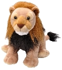 Peluche lion Wild Republic 30 cm