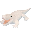 Peluche alligator blanc Wild Republic 30 cm