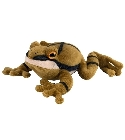 peluche Peluche grenouille crucif�re bruitage sonore
