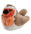 peluche Peluche rouge gorge avec bruitage sonore