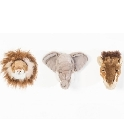 Trophée peluches coffret safari Wild and Soft