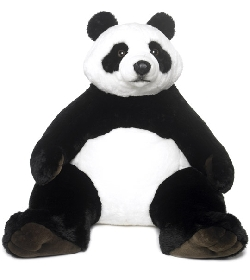 peluche panda g ant 1 m chez doudou. Black Bedroom Furniture Sets. Home Design Ideas